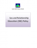 Lyons Hall Sex and relationship education SRE Policy