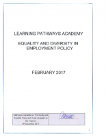 Equality & Diversity Policy – Feb 17