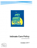 Intimate Care Policy Oct 17