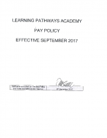 Pay Policy Sept 2017